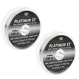 600m Linha Monofilamento Platinum XT - 0,60mm/0,80mm