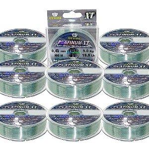 900m  Linha Monofilamento Platinum XT - 0,45mm 25kg