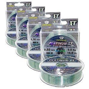 Kit de Linhas Platinum XT - 0,60mm (2) + 0,50mm (2) + 0,45mm (3) + 0,25mm (1)