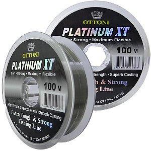 Linha Monofilamento Platinum XT - 0,60mm 43,48kg - 100m