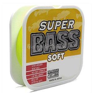 Linha Marine Sports Super Bass - Amarela - 24 lbs - 0,40mm - 250m