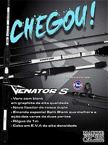 Vara Marine Sports Venator S-C562M - 8-17 lb (carretilha) 1,68m (2 partes)