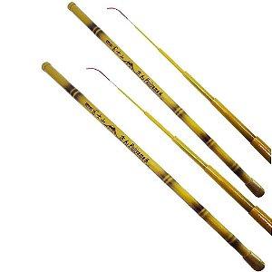 2X Vara Bambu Curto Fujiyama 1,80m-2,30m-2,70m -40% Carbono