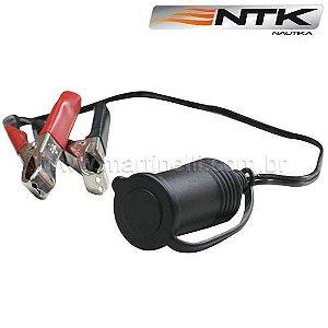 Adaptador Nautika 12 volts para uso em barcos, trailers, etc