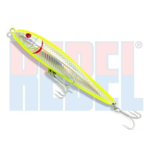Isca artificial Rebel Jumpin Minnow T20 (João pepino original) cor: SL-HD