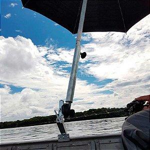 Suporte p/ guarda sol borda, longo reforçado todos barcos