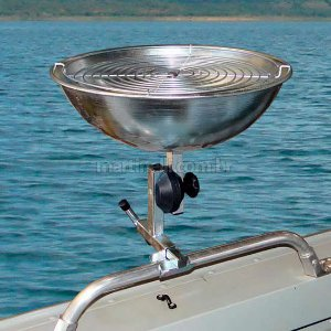 Churrasqueira para todos tipos de barco aço galvanizado