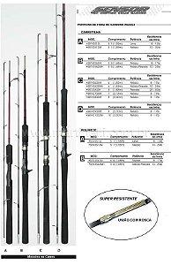 Vara Marine Sports Sensor SER-S562M - 8-17 lb - (1,68m) (molinete) (2 partes)