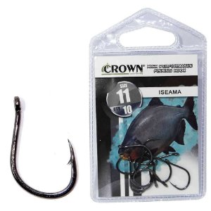 Anzol Crown Iseama Black 11 c/ 10 un.