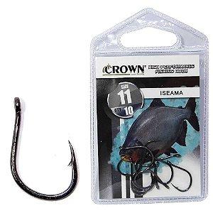 Anzol Crown Iseama Black 11 c/ 10 un.