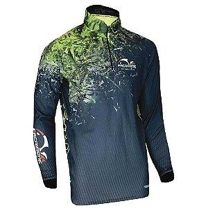 Camiseta de Pesca Faca Na Rede F-move Sixx - tam. EG