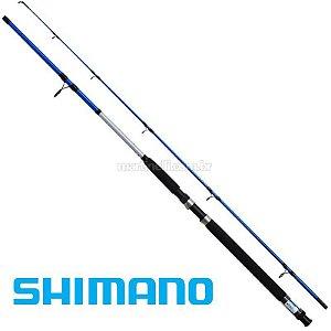 """Vara Shimano Cruzar M 2502 BLUE - 8-16lb - (5'0"""") (1,52m) (molinete) (2 partes)"""