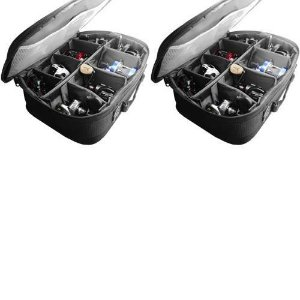 2 Bolsa Porta Carretilhas Sumax SM - 11017 35 x 25 x 11cm