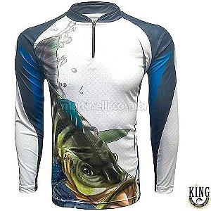 Camiseta de Pesca King 19 Tucunaré - Tam: 03 - G