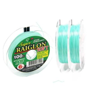 Linha monofilamento Super Raiglon Soft 0,405mm - 26,6 lbs - 100 m