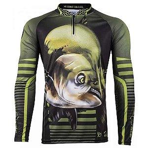 Camiseta de Pesca King 81 - Tam: 05 - EX