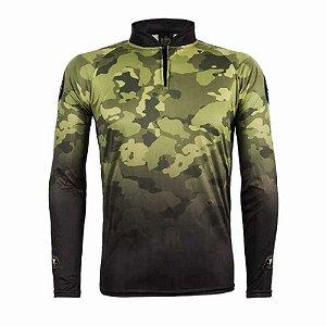 Camiseta de Pesca King Atack 01 - Tam: 04 - GG