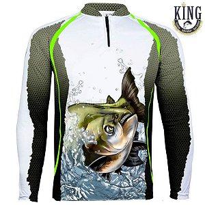 Camiseta de Pesca King 67 - Tam: EX