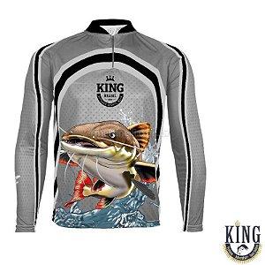 Camiseta de Pesca King 77 - Pirarara - Tam: 04 - GG