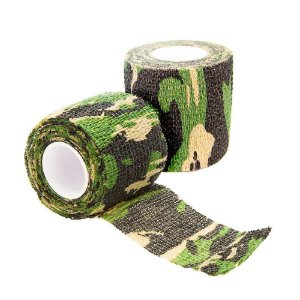2 Fita Adesiva Camo Tape Camuflado