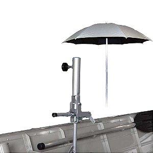 p/ guarda Sol banco reforçado regulavel + Guarda Sol Alumínio dupla face 1,60m diâmetro