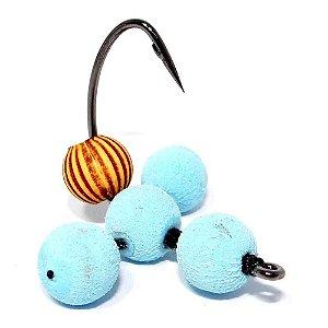 Isca artificial JR Neto Anteninha Baby Blue