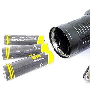 Lanterna Holofote 8806 Recarregável Led CREE B-MAX C/ Zoom