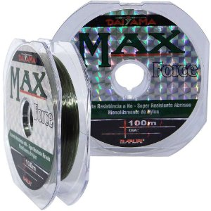 Linha Maruri Max Force Nylon 30.0 0,92mm 1035kg 100m