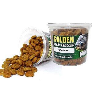 Ração p/ pesqueiro Furadinha Golden Natural 200g