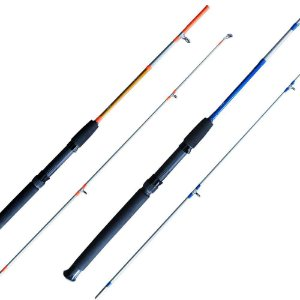 Vara Maruri Toro S662 1,98mt 15-30lb Azul/laranja p/ molinete