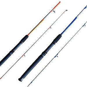 Vara Maruri Toro 502 1,52mt 10-20lb Azul/laranja p/ molinete