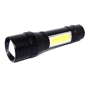 Lanterna 8152 Led T6 c/ luminária e clip