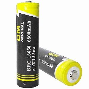Bateria Recarregável 18650 6800mah 3.7v Bm