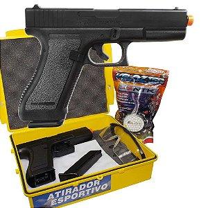 Airsoft Pistola Kwc K17 Mola 6mm