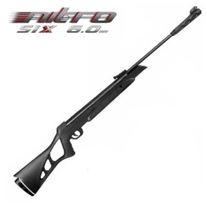 Carabina de Pressão CBC Nitro Six 6,0mm OX PP preta