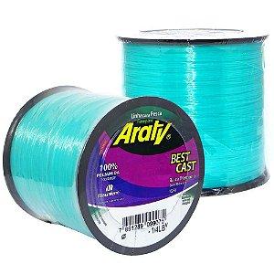 Linha Araty Best Cast 0,45mm Verde c/ 574m
