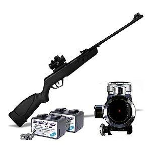 Carabina CBC Nitro Six 6,0mm OX PP + 200 Chumbinhos e Mira