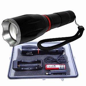 Lanterna Tática Militar Double Light Lampião Mk-10-0353