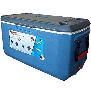 Caixa Térmica Coleman 120 Qt 113,5L Azul Xtreme