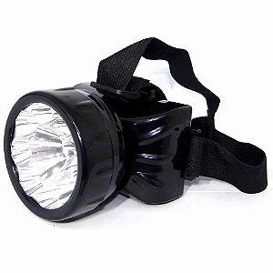 Lanterna De Cabeça Dp-781 Super potente 9 Leds