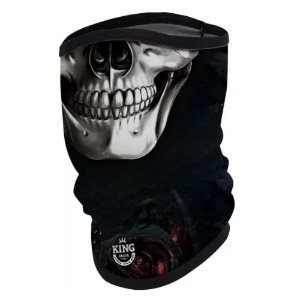 Breeze King Pro Caveira - Proteção UV (Máscara de Proteção Solar - Ecohead)