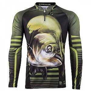 Camiseta de Pesca King 81 - Tam: GG