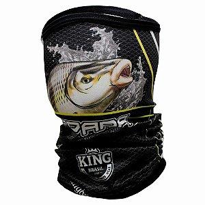 Breeze Buff King Piapara 305 - Proteção UV (Máscara de Proteção Solar -Ecohead)
