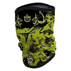 Breeze Buff King Espinhas Verde 08 - Proteção UV (Máscara de Proteção Solar -Ecohead)