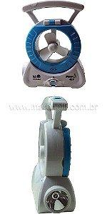 Lanterna recarregável LED mini ventilador ECO-680 - Eco-Lux