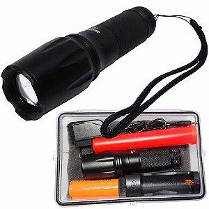 Lanterna Tática Militar LED T6 Recarregável