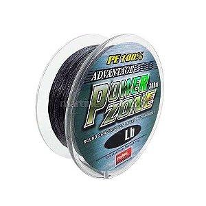 Linha multifilamento Power Zone 42 lb 0,24mm 300m cor cinza
