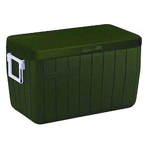 Caixa Térmica Coleman 48 Qt 45,4l All Green 101387482004