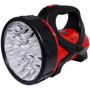 Lanterna Holofote Dp736a C/ 25 Super Leds Bivolt Recar