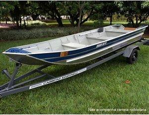 Barco de alumínio Martinelli Tornado 500 Semi chato Preço a vista R$ 5.550,00 (Frete a consultar)